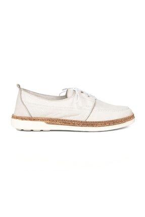 Greyder Kadın Kirli Beyaz Günlük Ayakkabı
