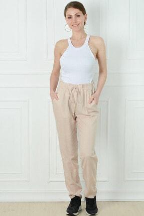 Herry Kadın Bej Pantolon