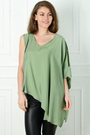 Herry Kadın Yeşil Bluz 20dmy6727
