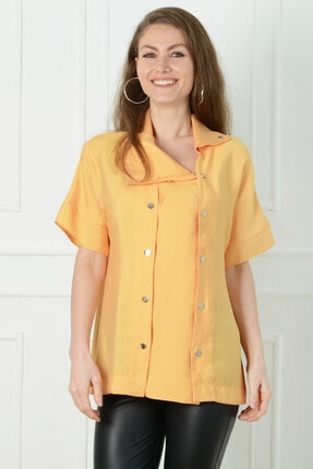 Herry Kadın Sarı Bluz 20dmy6722