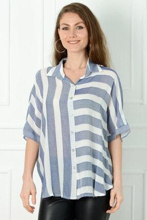 Herry Kadın Indıgo Bluz 20dmy6726