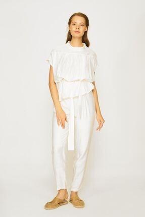 Batik Kadın Beyaz Bluz