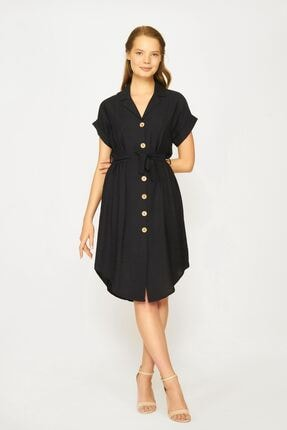 Batik Kadın Siyah Elbise