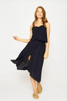Batik Kadın Lacivert Dkm Duz Casual Elbise Y42688