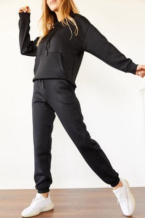 Xhan Kadın Siyah Scuba Takım 0yxk8-44001-02