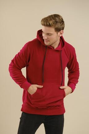 Oksit Giyim Lgg Mart Slim Fit Kapüşonlu Unisex Polar Sweatshirt