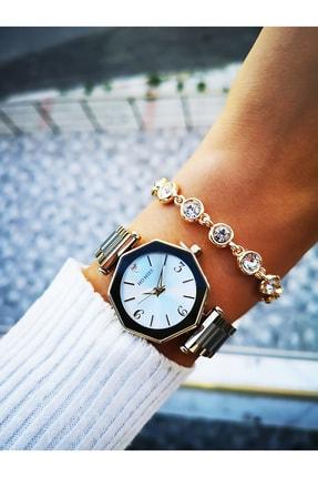 Homies Kadın Beyaz Kol Saati Bileklik