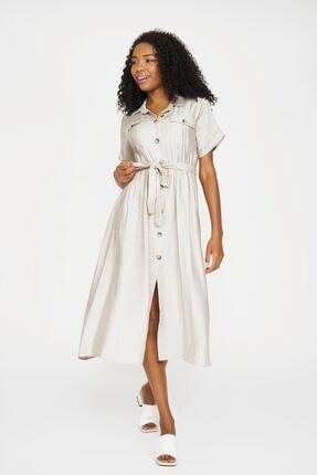 Batik Kadın Taş Rengi Casual Elbise