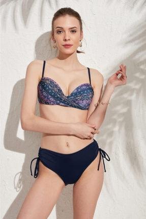 Marie Claire Kadın Lacivert Dönen Dolgulu Bikini