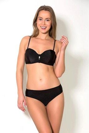 CAMASIRCITY C&city 2909-1 Kaplı Bikini Takım Siyah