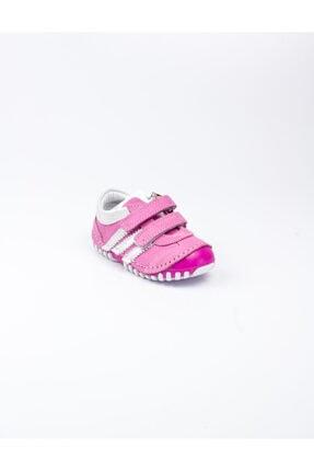 Sanbe 305 S 3502 Pembe Deri Ilk Adım Ayakkabısı Pembe-18