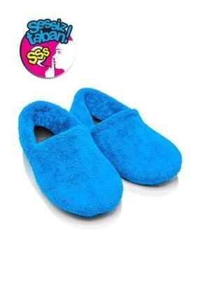 Twigy Tt1254 Cool Mavi Kadın Kışlık Ev Ayakkabısı