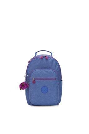 Kipling Unisex Mavi Seoul S Küçük Boy Sırt Çantası (laptop Korumalı)