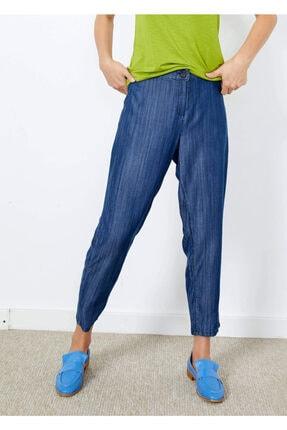 Cazador Kadın İndigo Tensel Cepli Pantolon