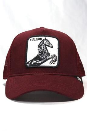 Goorin Bros Unisex Bordo | Stallion | One Size At Figürlü Şapka