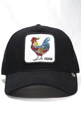 Goorin Bros Unisex Siyah Horoz Figürlü Şapka