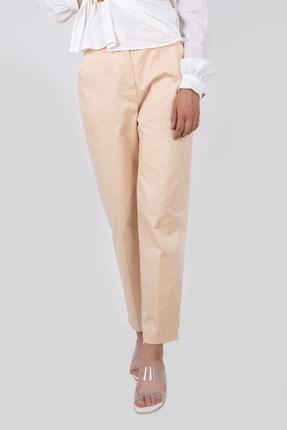 Kadın Krem Klasik Pantolon SD110222774411