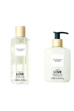 Victoria's Secret Kadın Vücut Losyonu & Vücut Spreyi Seti Fist Love Fragrance Lotion&mist 250 ml