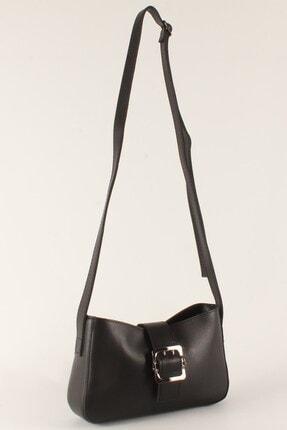 Luwwe Bag's Kadın Siyah Uzun Askılı Baget Çanta 10379