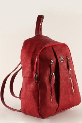 Luwwe Bag's Kadın Kırmızı Sırt Çantası (20380)