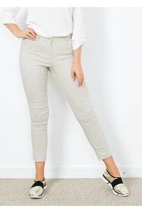 Cazador Kadın Taş Klasik Kesim Dar Paça Pantalon