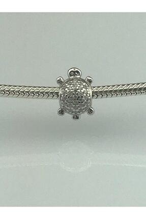 Kadın Gümüş Sevimli Kaplumbağ Gümüş Bileklik PND 23