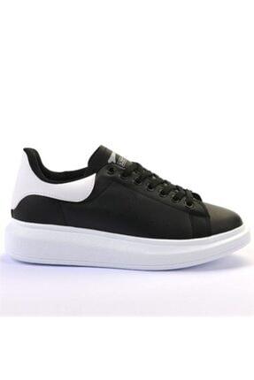 Slazenger Kadın Siyah Beyaz Günlük Giyim Ayakkabı