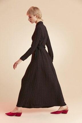 Tuğba Kadın Lacivert İstanbul Elbise