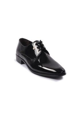 Pierre Cardin Erkek Siyah Rugan Klasik Ayakkabı 70pc10