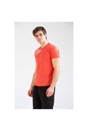Umbro Desk Erkek Kırmızı Basic Tişört (tf0018-03)