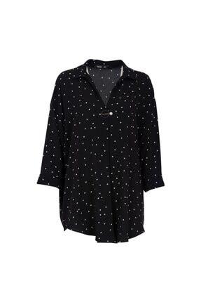 Ayhan 81308 Kadın Bluz Sıyah