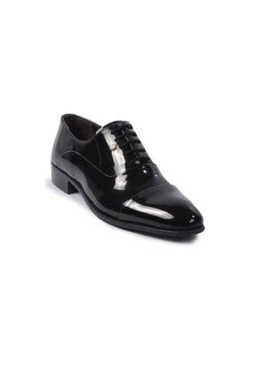 Pierre Cardin Erkek Siyah  Rugan  Klasik Ayakkabı 70pc20