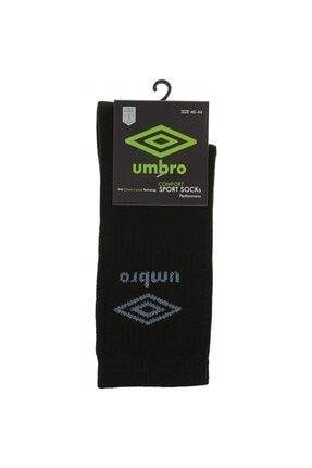 Umbro Unisex Siyah Havlu Çorap (tk0010-01)