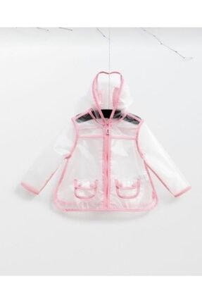 Wogi Baby Kız Çocuk Şeffaf Yağmurluk