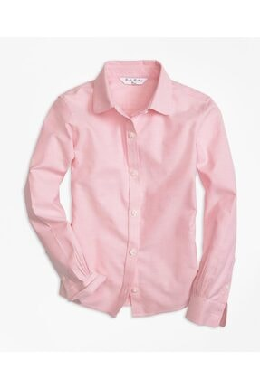 Brooks Brothers Kız Çocuk Pembe  Gömlek
