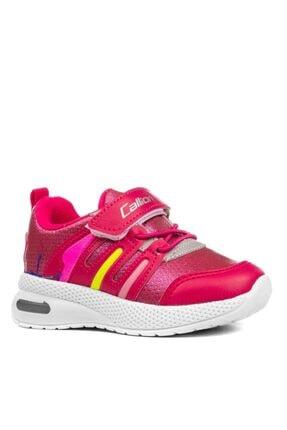 Callion Kız Bebek Pembe Ortopedik Işıklı Spor Ayakkabı 1131
