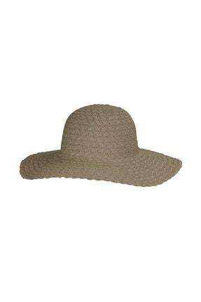 Bay Şapkaci Kadın Krem Hasır Şapka