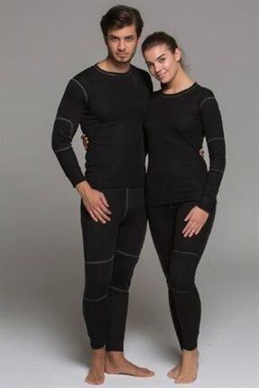 Thermoform Unisex Siyah Active Plus Yetişkin Termal Içlik Set