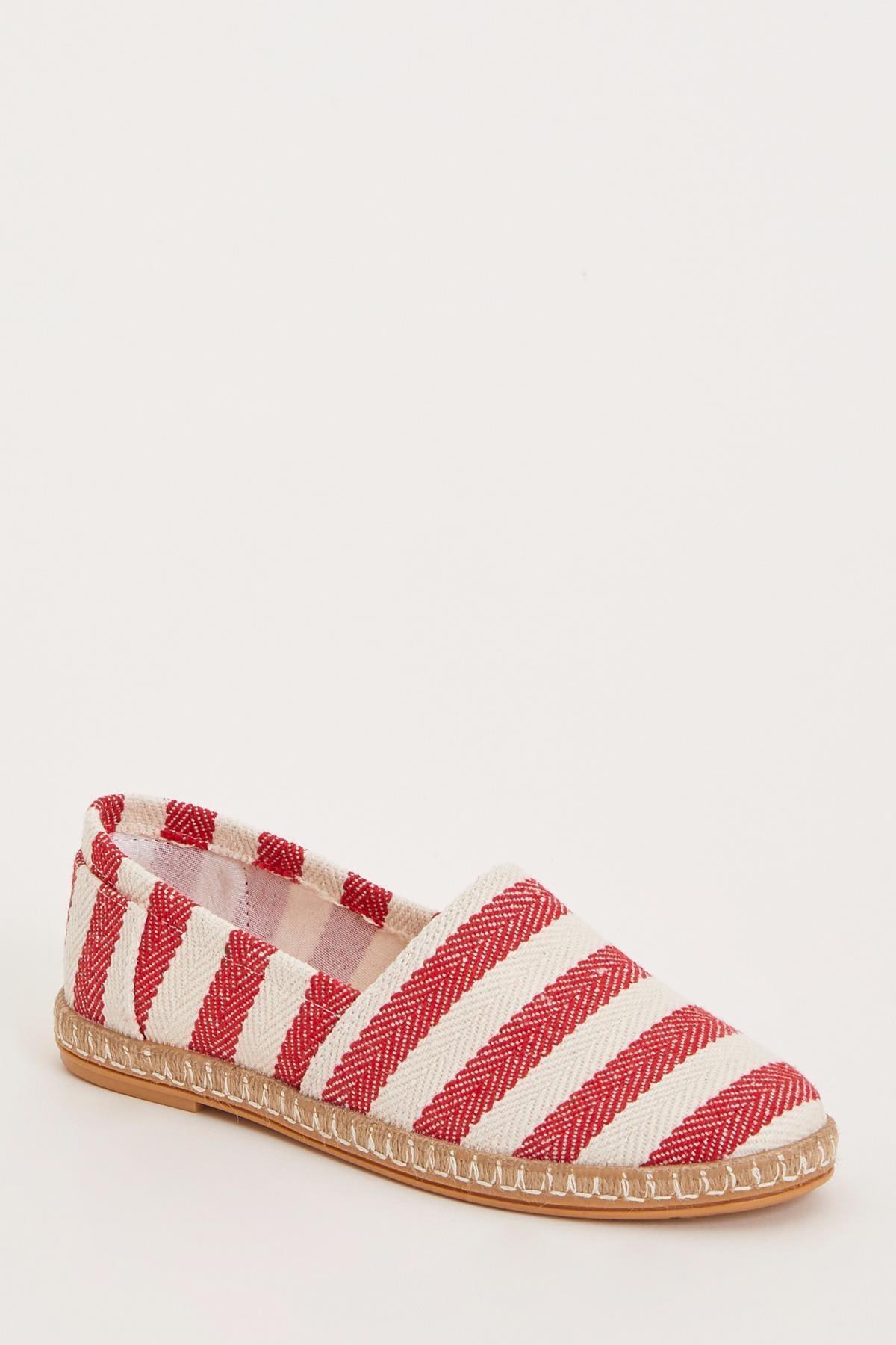 DeFacto Kadın Kırmızı Espadril Ayakkabı L3978AZ.19HS.RD1