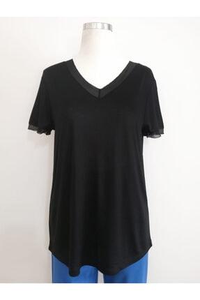 Vekem Kadın Siyah Basic Bluz