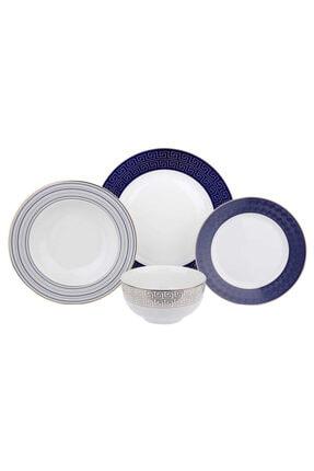 Beyaz 24 Parca Yemek Takımı LYEG 066