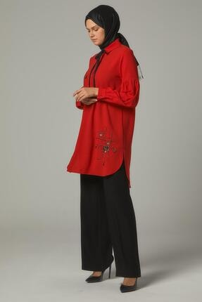 Doque Kadın Kırmızı Do-a9-61028-19 Tunik