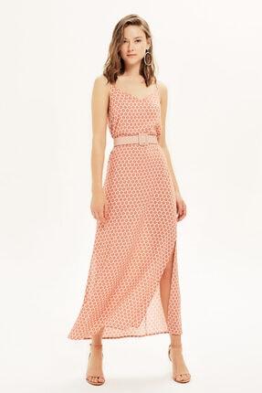 Naramaxx Sıfır Kollu Desenli Elbise