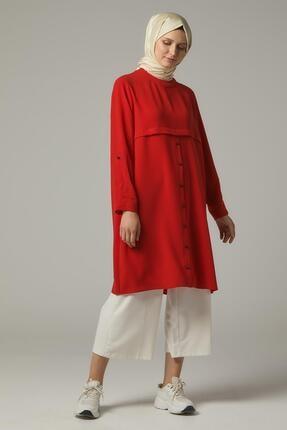Doque Kadın Kırmızı Tunik  Do-a9-61082-19