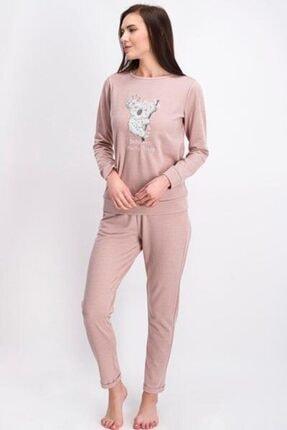 Arnetta Koala Bayan Uzun Kol Pijama Takımı