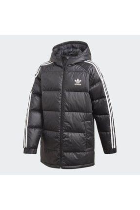 Adidas Unisex Çocuk Siyah Kuş Tüyü Down Jacket Mont