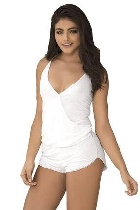 Mite Love Kadın Beyaz Pijama Takımı