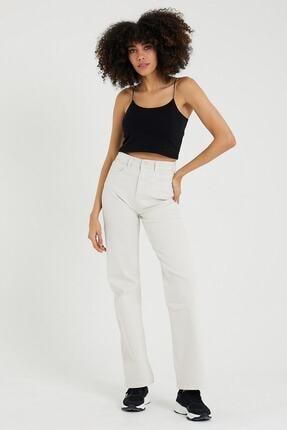 VENA Kadın Beyaz Cıara Off Whıte Denım Pantolon