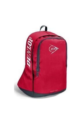 Yaygan Unisex Kırmızı Dunlop Sırt Çantası -1-2-