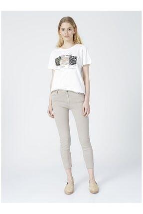 Fashion Friends Kadın Bej Pantolon